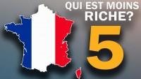 Les 5 régions les moins riches de France métropolitaine