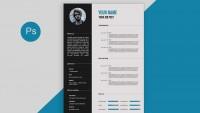 Modèle de CV - Photoshop