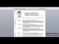 Modèle de CV Communication