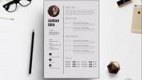 Modèle de CV |  Photoshop